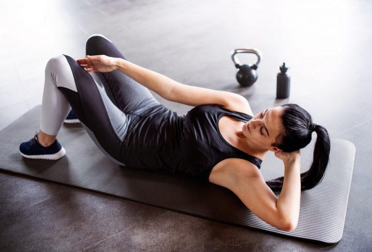 3 ejercicios para abdominales concretos